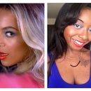 Beyonce-inspired makeup