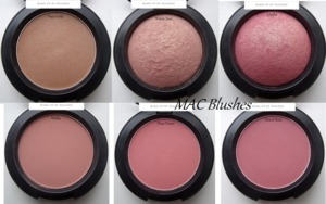 MAC blushes - please find the review and haul :D