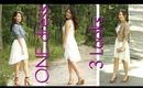 Style Lookbook   1 Dress 3 Looks