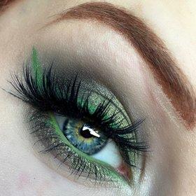 Mossy Green Shimmer