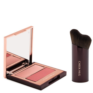 Pretty Youth Glow Filter & Cheek Hug Brush Seduce Blush