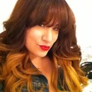 My Ombre with a little warmth :)
