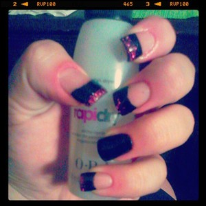 my friend at school did my nails they look amazing.