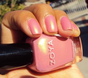 Zoya Meadow -  2 coats of perfection.
