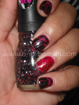 Hard Candy: Fishnets Avon Mosaic Effects: Black Wet -n- Wild Spoiled: Shuffle the Deck