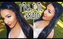 Tutorial: Fishtail Accent Braid |  Amanda Ensing