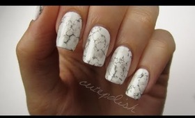 Stone Marble Nails?!