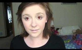 Evil Doll Inspired Makeup