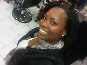 Just got my hair did...