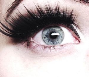 First time I used false lashes