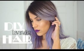DIY Lavender Hair