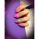 Fuchsia Diamond Bling