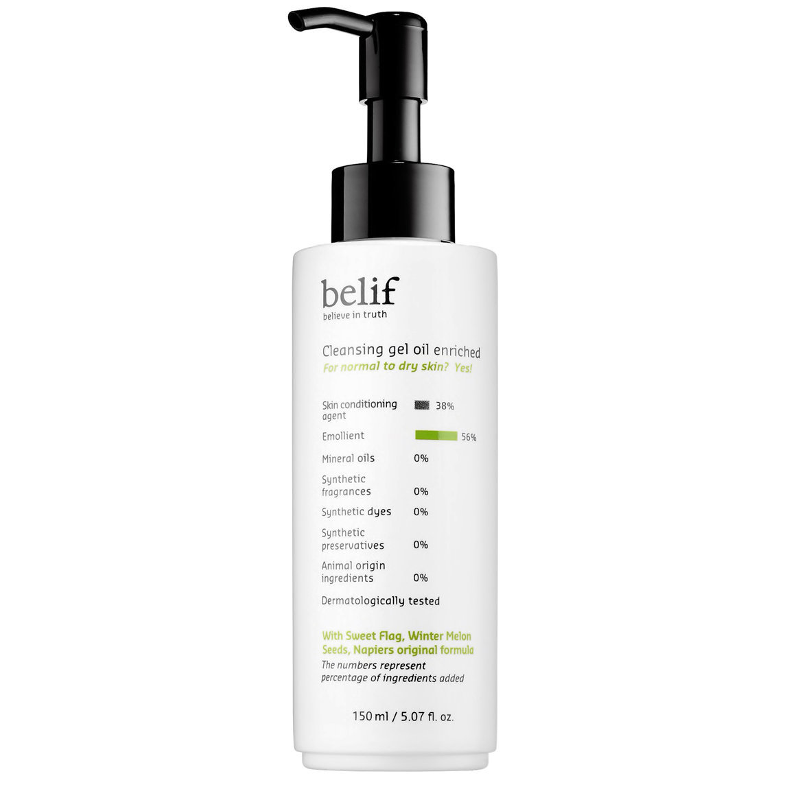 belif Cleansing Gel Oil Enriched alternative view 1 - product swatch.