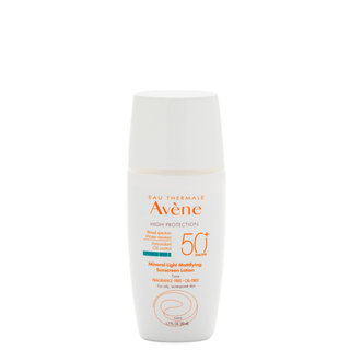 Eau Thermale Avene Mineral Light Mattifying Sunscreen Lotion SPF 50+