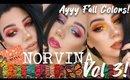 Anastasia NORVINA Collection Vol. 3 Review + Three Looks