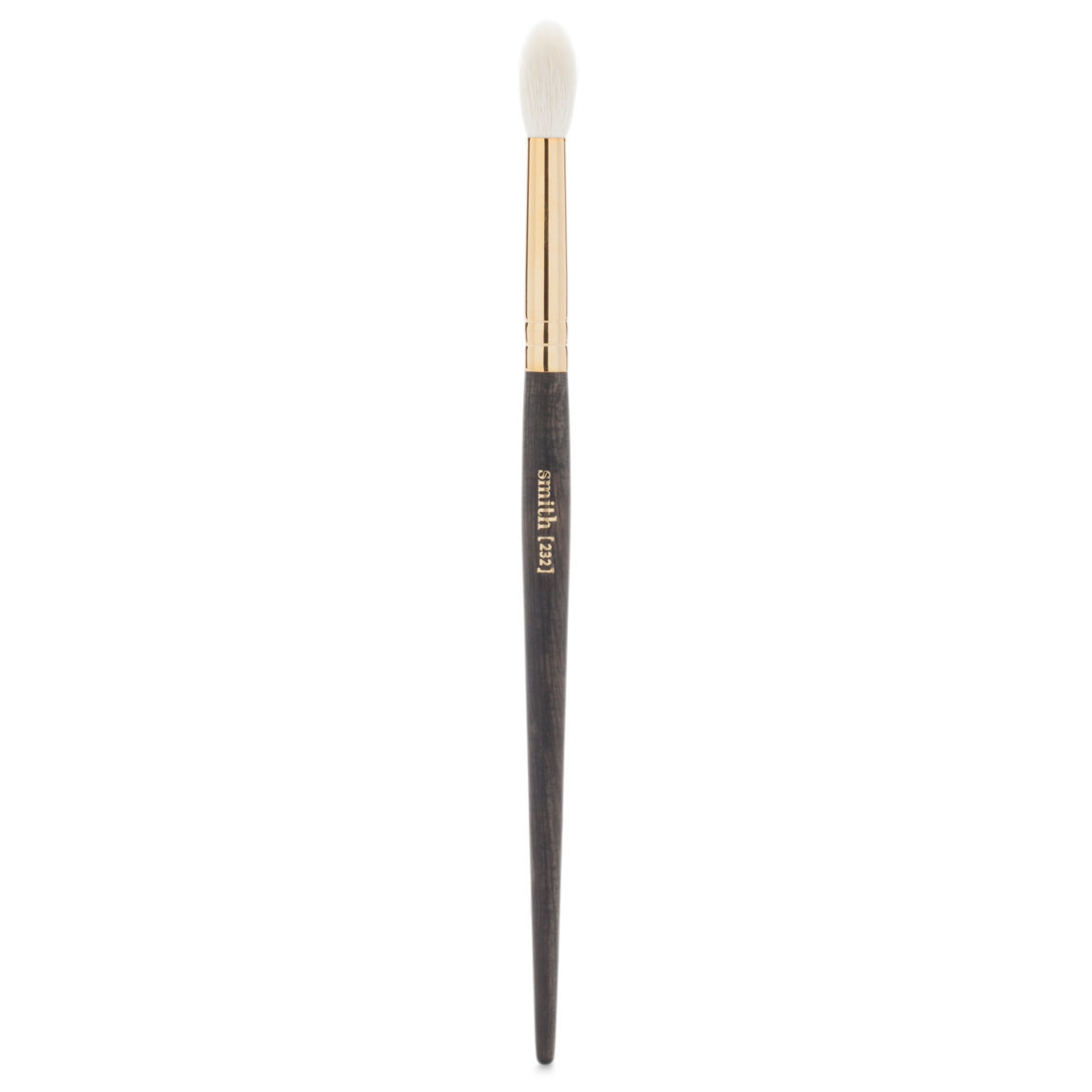 Smith Cosmetics 232 Quill Crease Brush Large product swatch.
