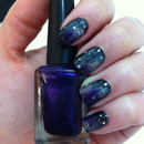 31 Nails Challenge - Galaxy