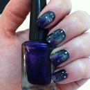 31 Nails Challenge - Galaxy