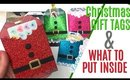 Santa Suit Christmas Gift Tags 2019 DIY, Andys Store project share, Andy's Store Aliexpress