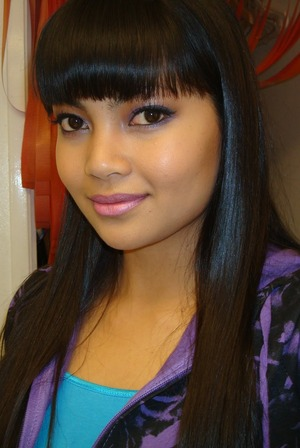 with my blunt cut bangs back in Feb 2010