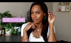 Blind Girl Rates It | Benefit Precisely My Brow vs ABH Brow Wiz WHICH IS BETTER?!  ◌alishainc