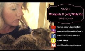VLOG | Week 6 - Workouts & Cook With Me | Fabulous Life of Mrs. P