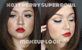 Katy Perry Super Bowl Makeup Look| JulieMacias