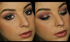 Duochrome Olive & Plum Makeup Tutorial | ColourPop So Quiche ♥
