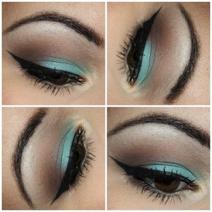 Tutorial on this eye look is on my blog: makeupbykailanmarie.blogspot.com