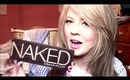NEW URBAN DECAY NAKED PALETTE REVIEW