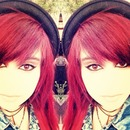 my red hair!!
