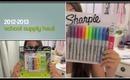 School Supplies Haul 2012!