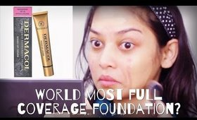 World's most full coverage Foundation: Dermacol 1st Impression & Review