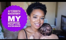 POSTPARTUM SERIES | My REAL Hospital Experience After Childbirth! #TheFourthTrimester