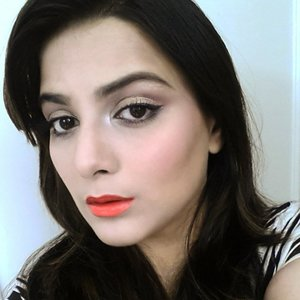Just a soft neutral look paired with mac morange