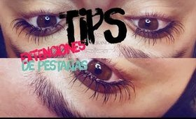 extenciones de pestañas | tips | eyelash extentions tips