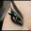 Green glitter.