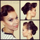 Hair and Makeup by Me ^_^