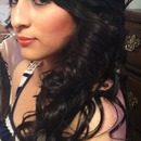 Prom hair and makeup!