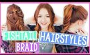 3 FISHTAIL BRAIDED SPRING HAIRSTYLES!