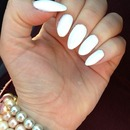 Sinful Stilleto White nail polish