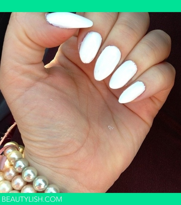 Sinful Stilleto White nail polish | Lillianette G.\'s (MAKEUPBYNURYG ...