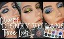 COLOURPOP DISNEY VILLAINS   Misunderstood Palette  Three Looks + Review