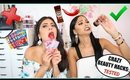 BEAUTY HACKS TESTED!! (Ft. Diana Saldana)