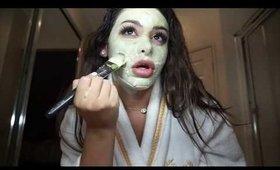 Get UN-Ready With Me w/ Matcha Skincare Routine | MISSSPERU