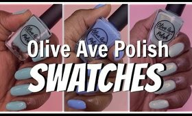 Olive Ave Polish - April Showers Trio Swatches