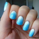 Icy Winter Blues Gradient