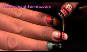 Native American Inspired/Tribal Nails Part 3