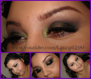Hey dolls, Here is another fall tutorial :) I thought I would do a smokey green look!! Hope you like, please don't forget to comment, rate and subscribe!!  Find me here:  Facebook: http://www.facebook.com/media/set/?set=a.103447813074134.7080.100002267466833&type=1#!/laura.martinezmua  Beautylish: http://www.beautylish.com/Laura62484  Pinterest: http://pinterest.com/laura62484/  Twitter.com/laura62484  Blog: http://laura62484.blogspot.com  What I used:  Eyes: mac painterly paint pot wet n wild comfort zone palette wet n wild i love matte palette G605 false lashes  Cheeks: nars laguna bronzer elf berry merry blush  Lips: vaseline lip therapy   Brushes: elf eyeshadow brush coastal scents pro fluffy blending brush sigma ss224 coastal scents precision brush mac 219  take care loves, Laura