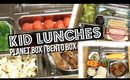 FAST AND AFFORDABLE KID LUNCH IDEAS | PLANET BOX BENTO BOX STYLE | SCCASTANEDA